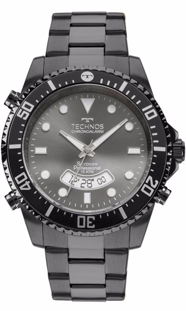 Relógio Technos Masculino Skydiver T205je 4p - R  569,91 em Mercado ... 1d482cb5b0