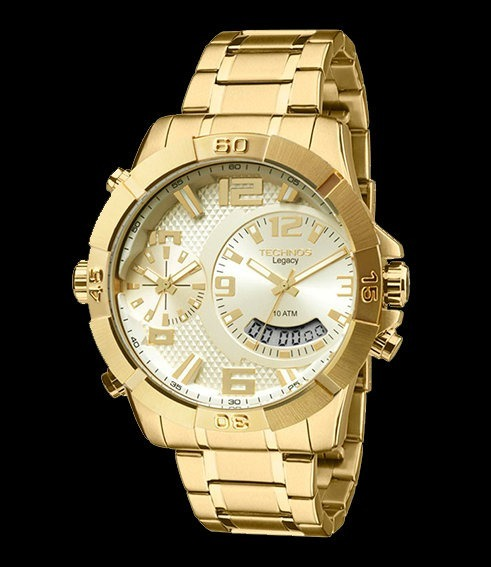 Relógio Technos Masculino Legacy T205fi 4x C nfe - R  863,90 em ... 939ee380e6