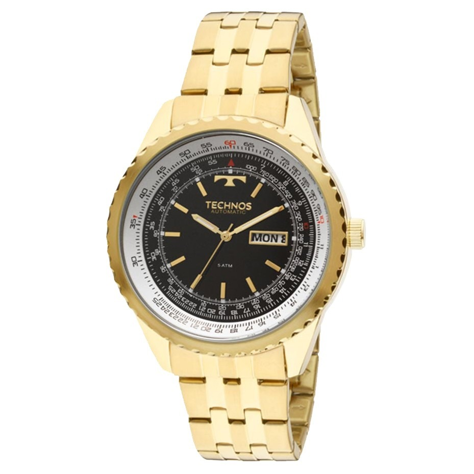 190e9aaf5c9 Relógio Technos Automatic Masculino 8205nm 4p - R  459
