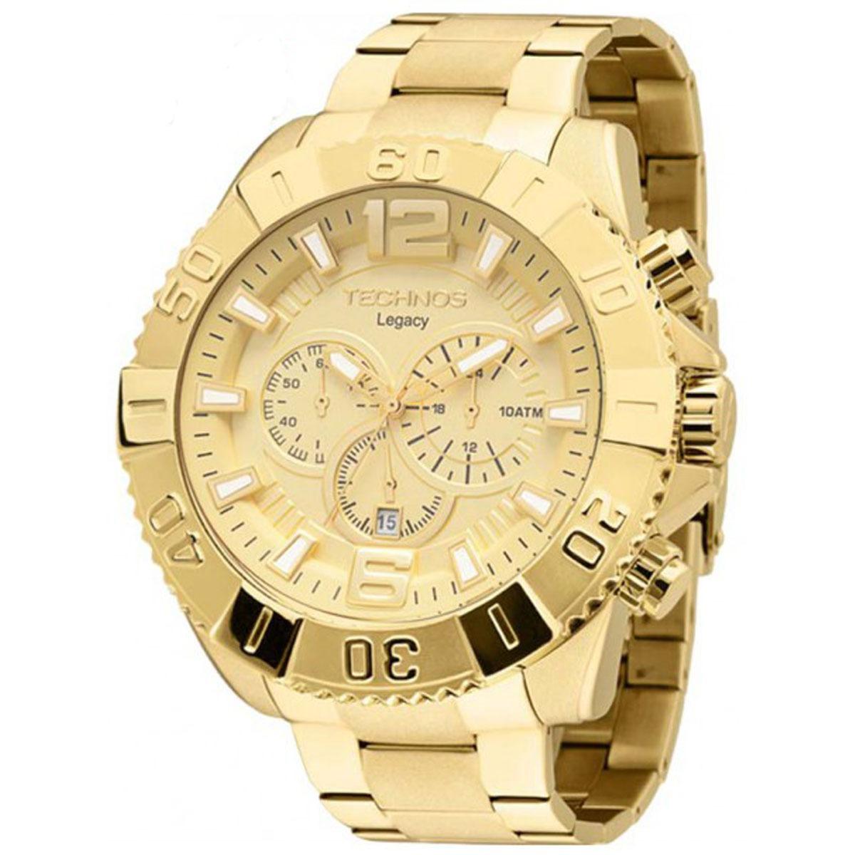 b28d0ad035f Relógio Technos Masculino Classic-legacy Os20ib 4x. - R  549