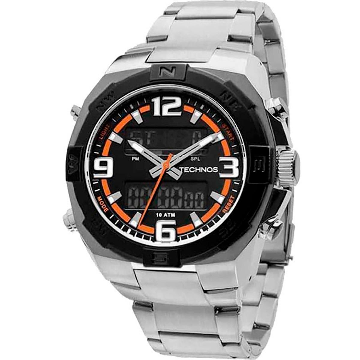e67ffd462d2aa Relógio Technos Masculino 50592b 1p - R  395,99 em Mercado Livre