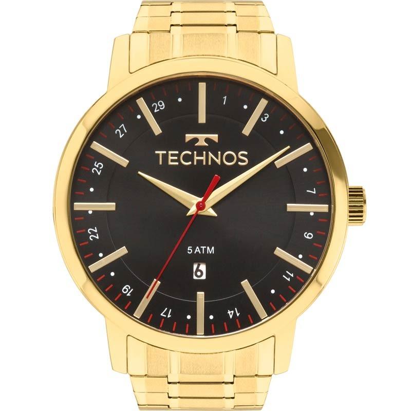 ae772162b6e44 Relógio Technos Masculino Steel 2115mmk 4p - R  269,00 em Mercado Livre