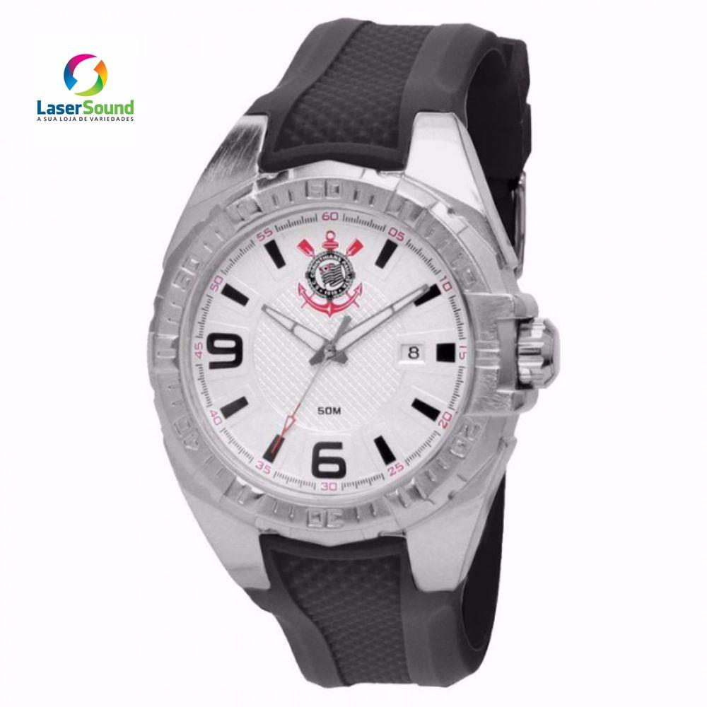 Relógio Technos Masculino Corinthians Cor2315ac 8k,c gr E Nf - R ... 9580767297