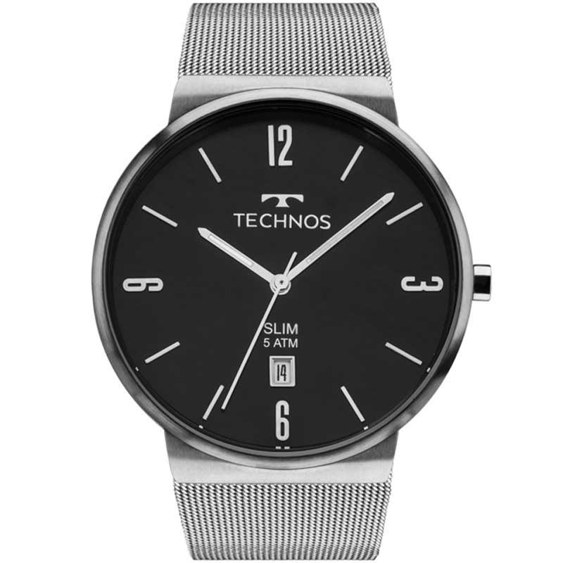 Relógio Technos Masculino Slim Gm10yi 1p - R  469,00 em Mercado Livre fff925ab31