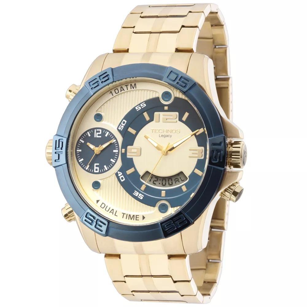 Relógio Technos Masculino Legacy Sport T205fu 4x + Nf - R  799,00 em ... b0f689d9be