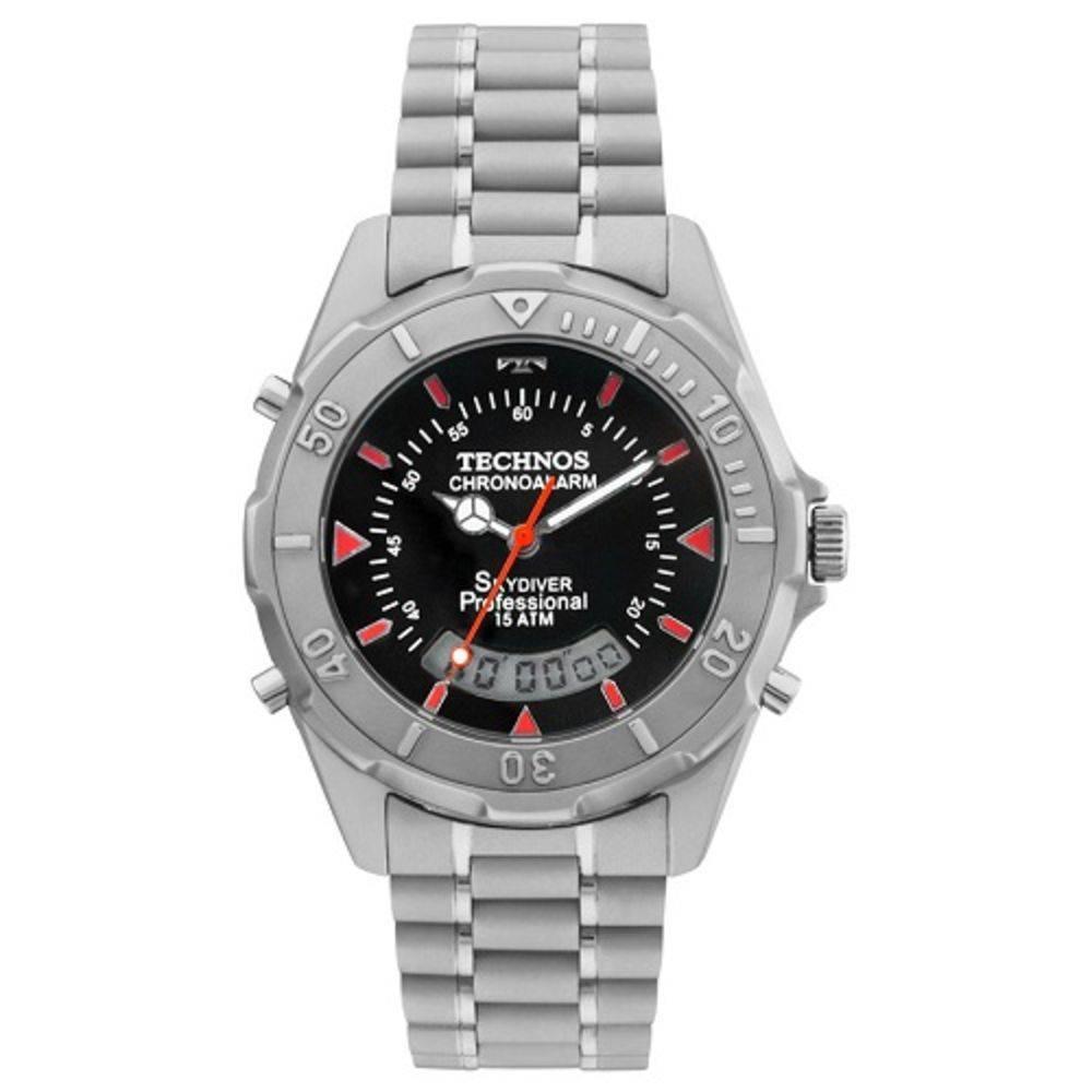 Relógio Technos Masculino Skydiver T20562 1r - R  429,00 em Mercado ... 36c30f406e