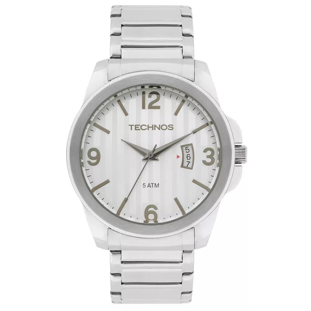512457e57024a Relógio Technos Masculino Classic Steel Analógico 2115ksa 1k - R ...