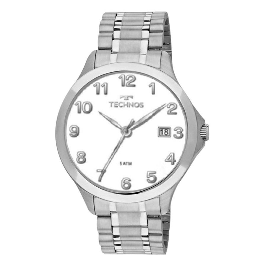 Relógio Technos Classic Steel Masculino 1s13co 1b 0 - R  199,90 em ... 72f9875faf