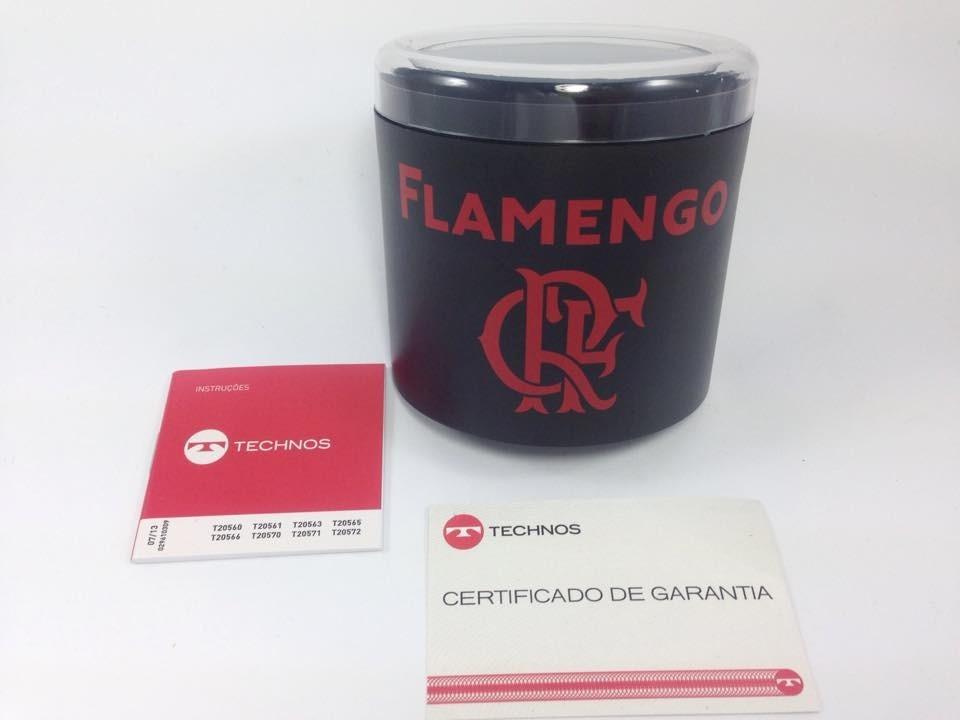Relógio Technos Masculino Flamengo Oficial Fla2035aa 8p - R  199,90 ... 56d31a4148
