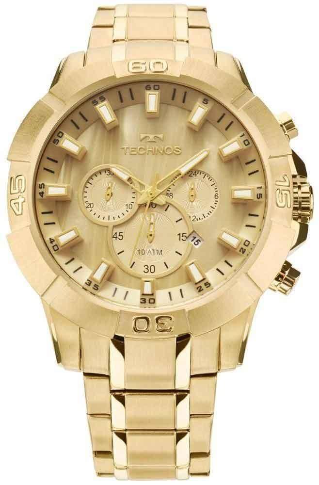 501d0f9830e Relógio Technos Masculino Legacy Cronógrafo Js26ae 4x - R  798