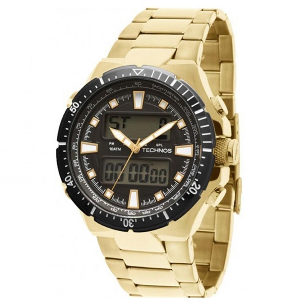 9928fbd9ea0 Relógio Technos Masculino Pulseira De Aço - O527ab 4p - R  712
