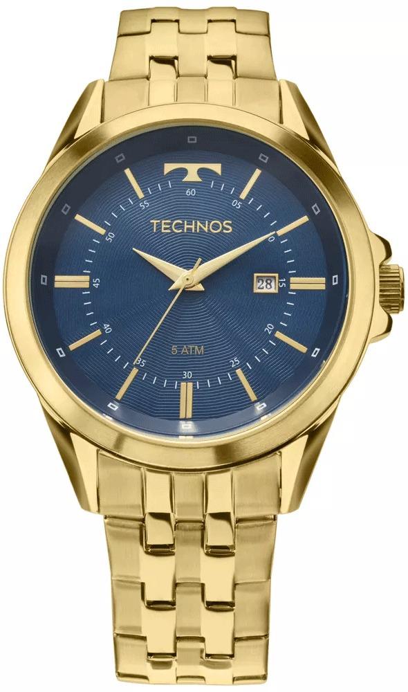 1f91b3f4011 Relógio Technos Masculino Classic Executive 2115kzc 4a - R  378