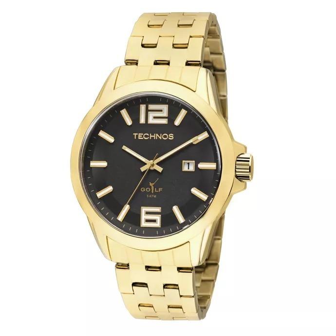 e7cd7d0829e Relógio Technos Masculino Dourado Performer - 2115laa 4c - R  249