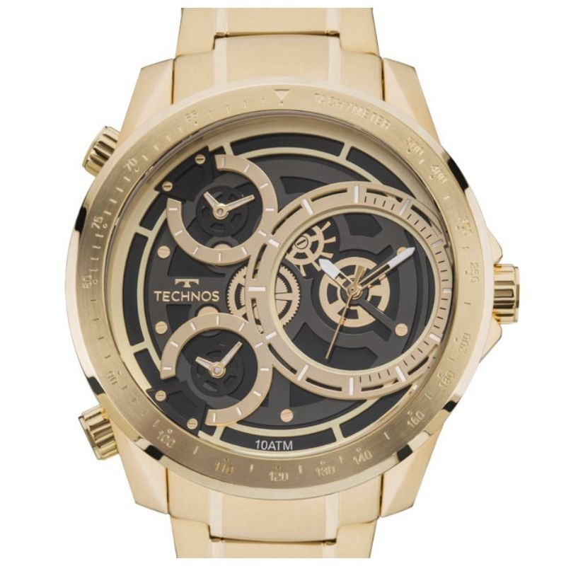 Relógio Technos Masculino Legacy Extra Gde 2035mla 4p C  Nfe - R ... a7c90a9c1c