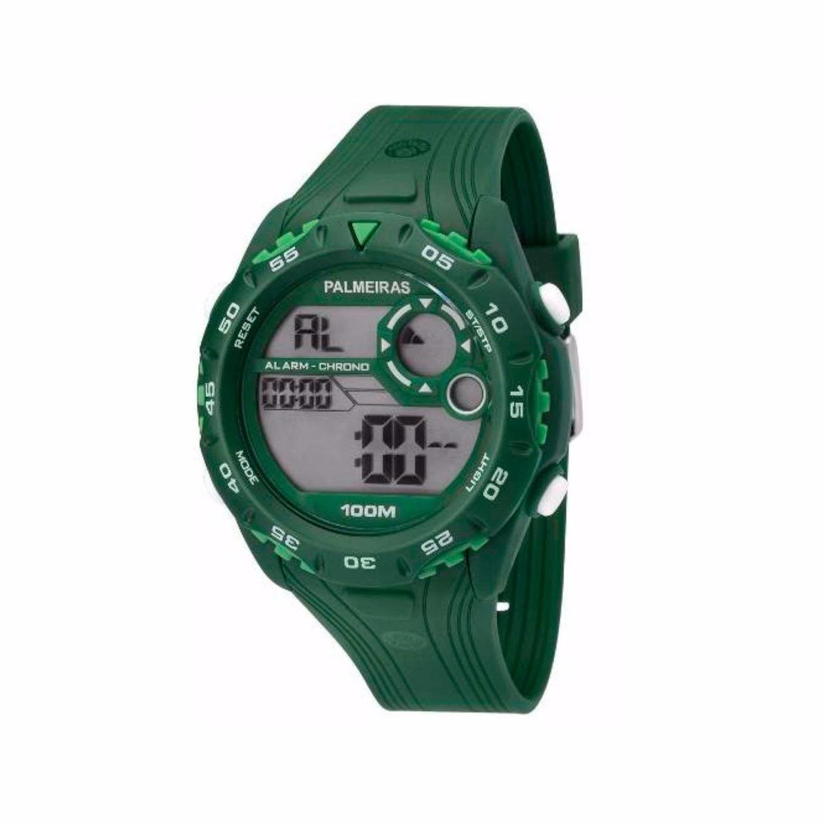 1c31768703e18 Relógio Technos Masculino Palmeiras Digital Pal13602a 8v - R  188,90 ...