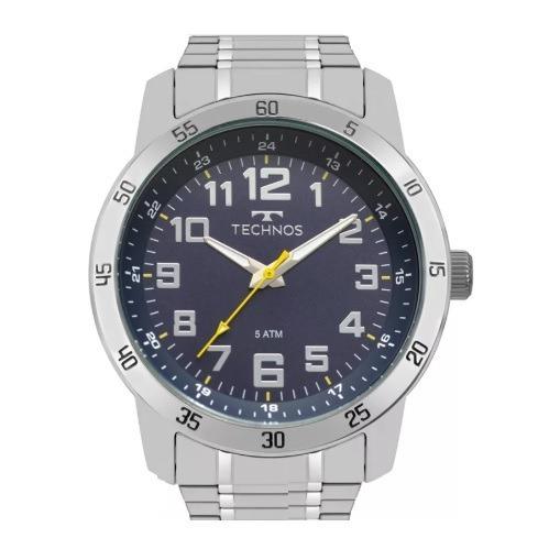 71063c74af8 Relógio Technos Masculino Sport Classic Aço Inoxidável - R  269
