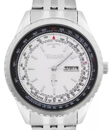 relógio technos masculino automatico - 8205nm/1b