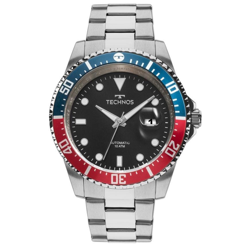 relógio technos masculino automático 8205nz 1p - nota fiscal. Carregando  zoom. 82f246c240