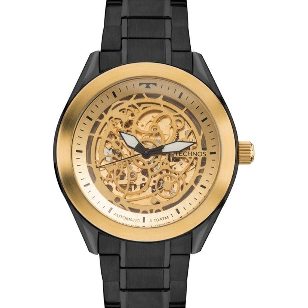 bb68226fd4e relógio technos masculino automático 8n24ai 4x esqueleto. Carregando zoom.