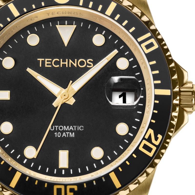 1bc2631ccab33 relógio technos masculino automático skymaster 8205ny 4p. Carregando zoom.