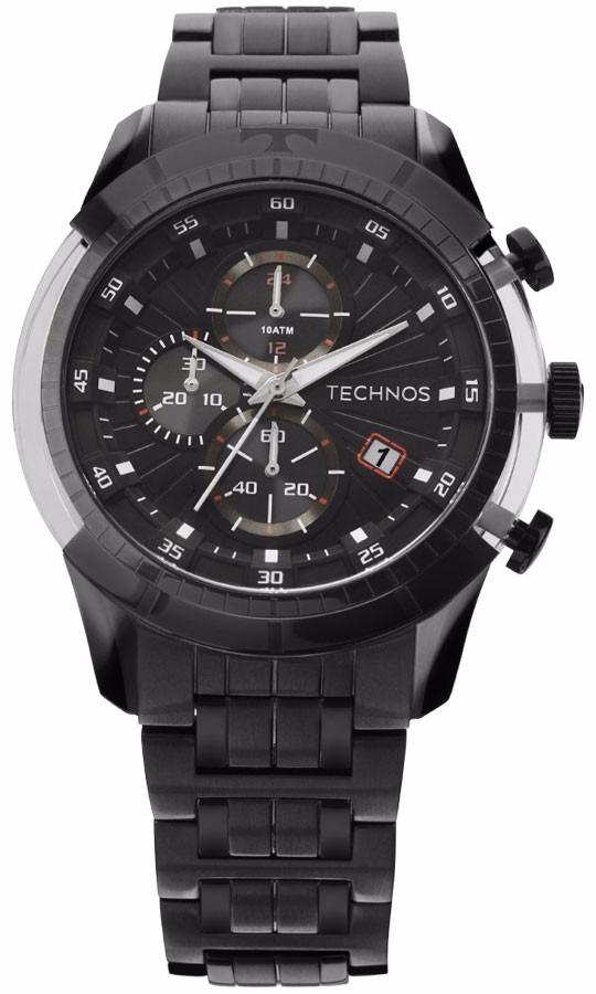 358137047c7 Relógio Technos Masculino Carbon Js15eq 4p Preto Lançamento - R  799 ...