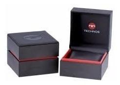 relógio technos masculino classic 2035mdg/0c couro