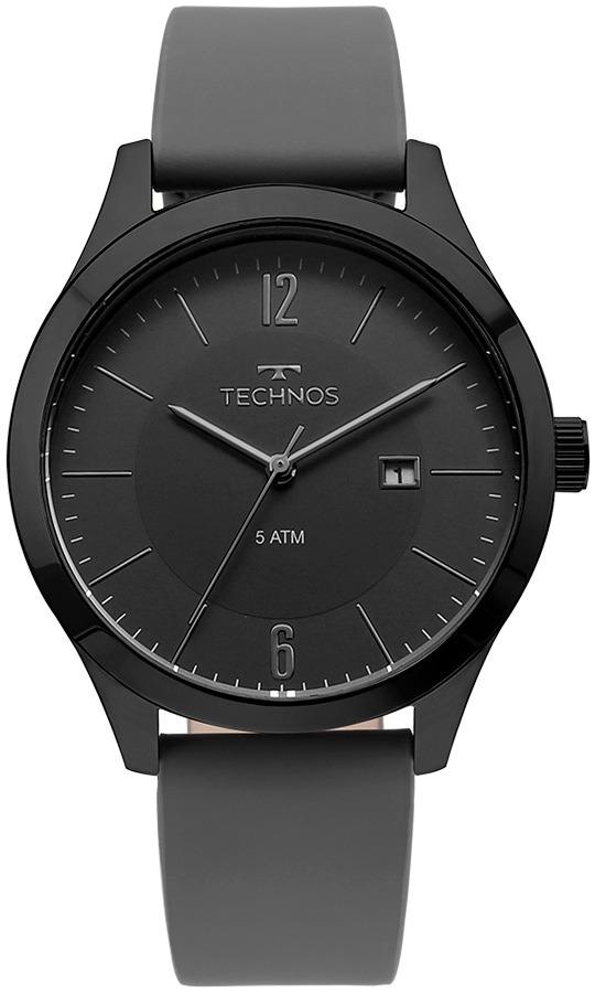 ddf0e55f6a4c7 Relógio Technos Masculino Classic 2115mou 2p Preto Analogico - R ...