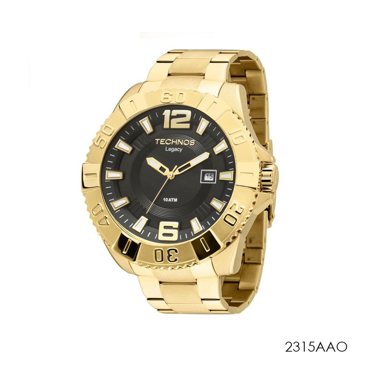 8ab70f0a417 relógio technos masculino classic legacy 2315aao. Carregando zoom.