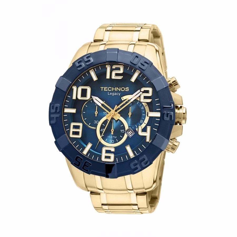 Relógio Technos Masculino Classic Legacy Aço - R  559,00 em Mercado Livre 3c13b1035e