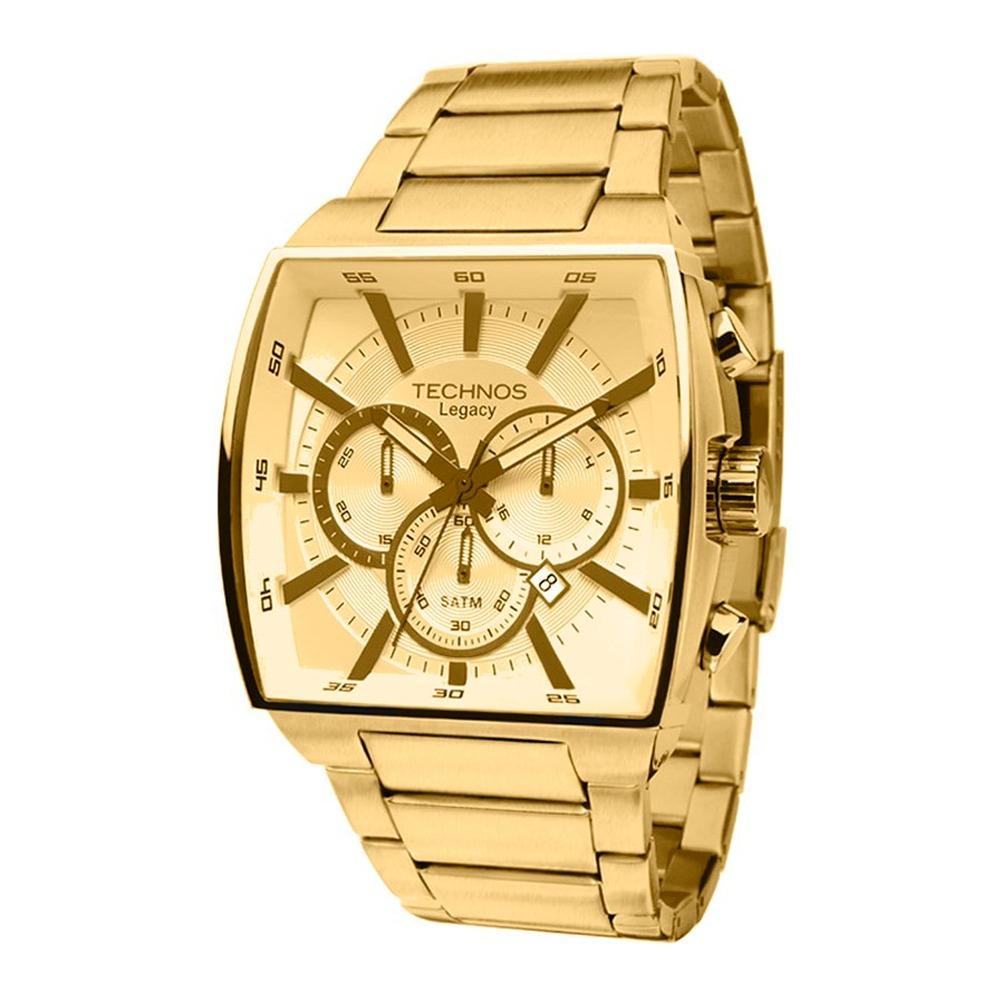 7c402d2e85d46 relógio technos masculino classic legacy dourado js25al 4x. Carregando zoom.