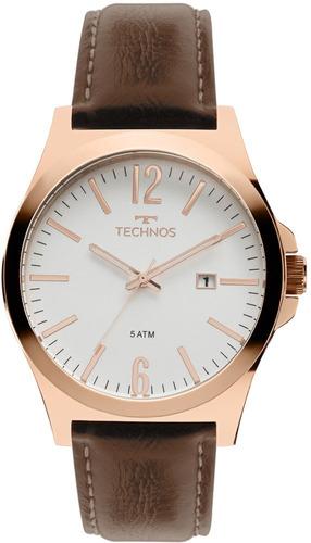 relógio technos masculino classic steel 2115mmu/5b