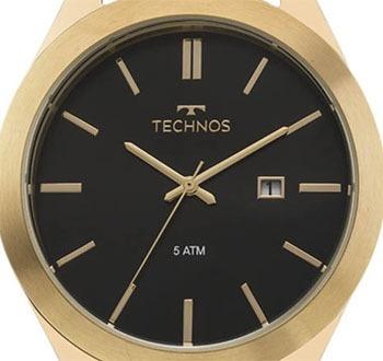 relógio technos masculino classic steel 2115mnq/0d