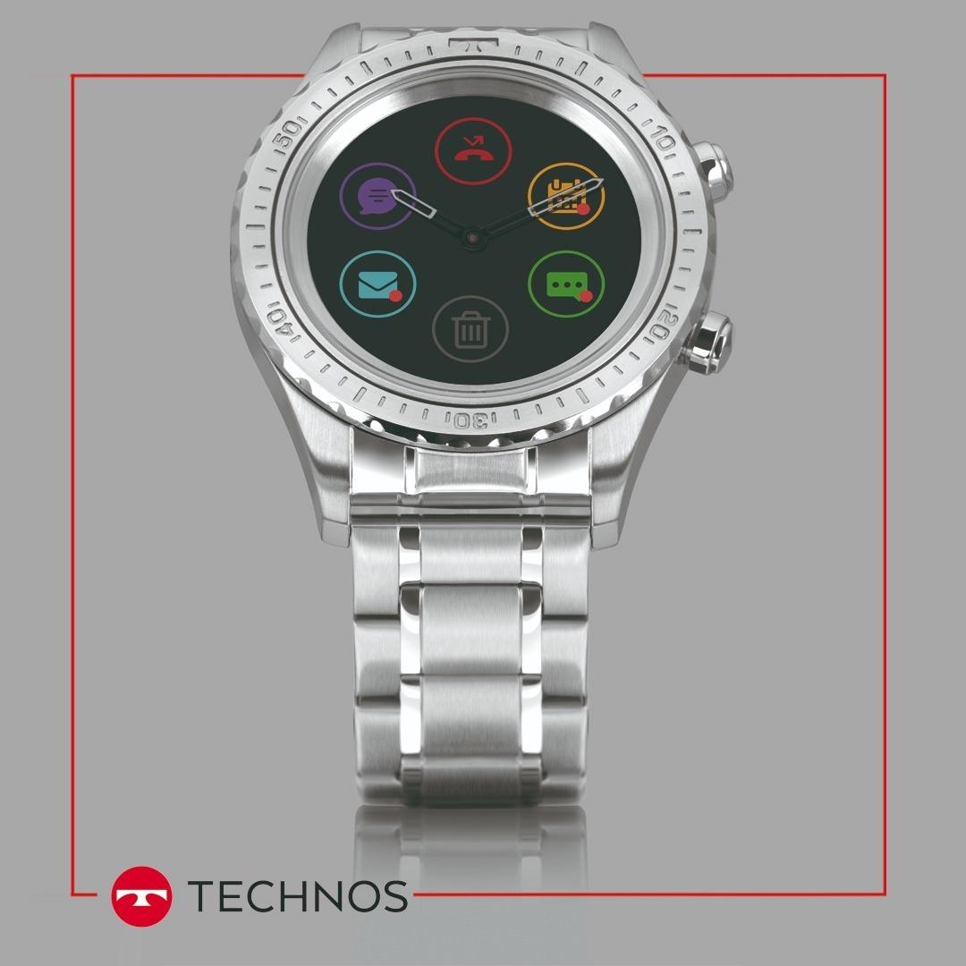 0529dd83cc460 relógio technos masculino connect duo p01aa 1p smartwatch br. Carregando  zoom.