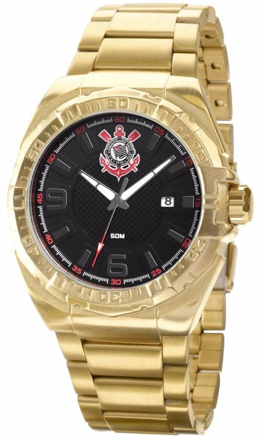 relógio technos masculino corinthians oficial cor2035aa 8p. Carregando zoom. ad71109f4b