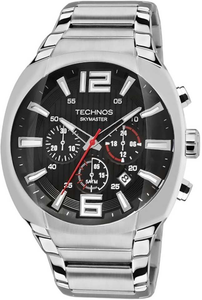 28c298796e7 relógio technos masculino cronógrafo performance skymaster j. Carregando  zoom.