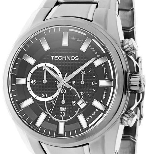 relogio technos masculino cronografo - vs75aa/1c