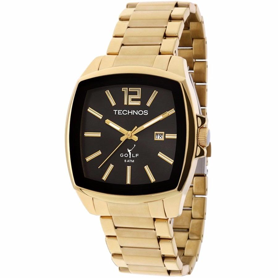 baaab98cdfb relógio technos masculino dourado golf classic 2115koi 4p  . Carregando  zoom.