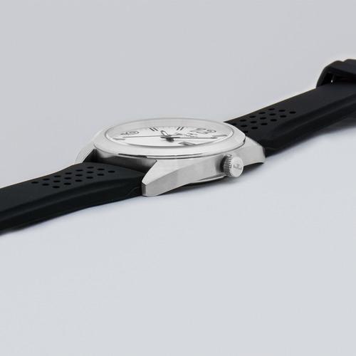 relógio technos masculino esportivo preto e prata 2305aw/1k