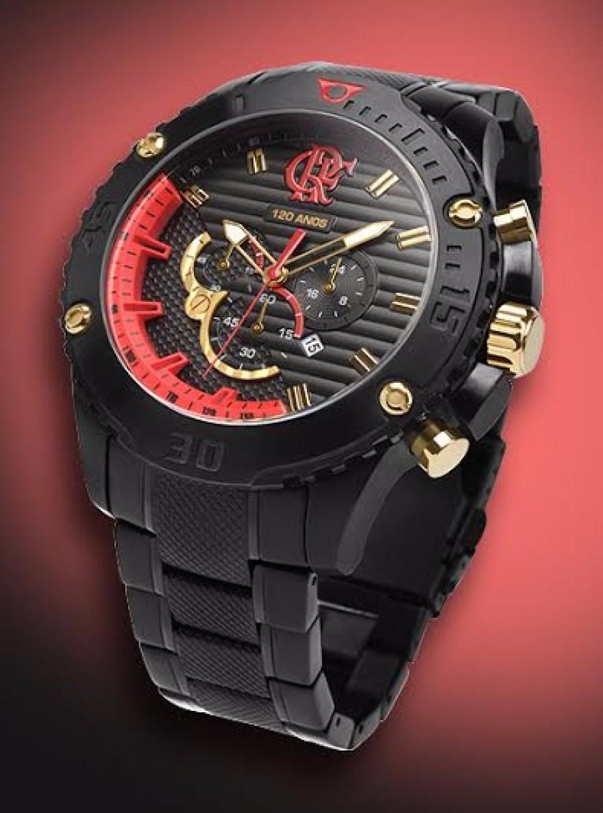 relógio technos masculino flamengo flaos2aaa 3p - oficial. Carregando zoom. 39d68dcf46