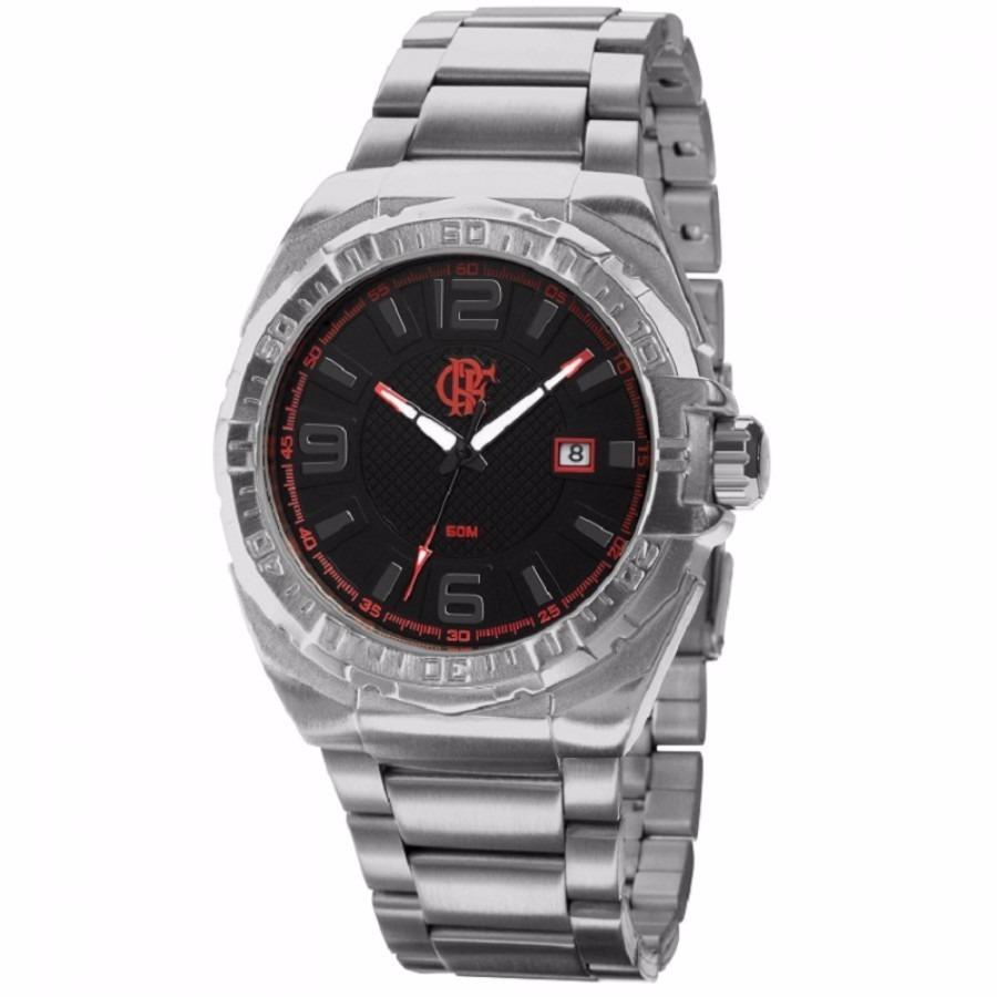 relógio technos masculino flamengo oficial fla2315ab 3p. Carregando zoom. 5c989af469