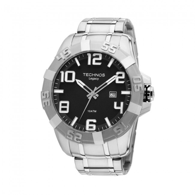 8039efac8fc Relógio Technos Masculino Legacy 2315yf 1p Aço Extra Grande - R  548 ...