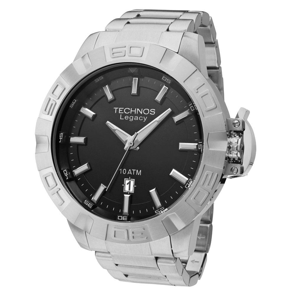 872852c2446 relógio technos masculino legacy 2415bz 1p extra grande big. Carregando  zoom.