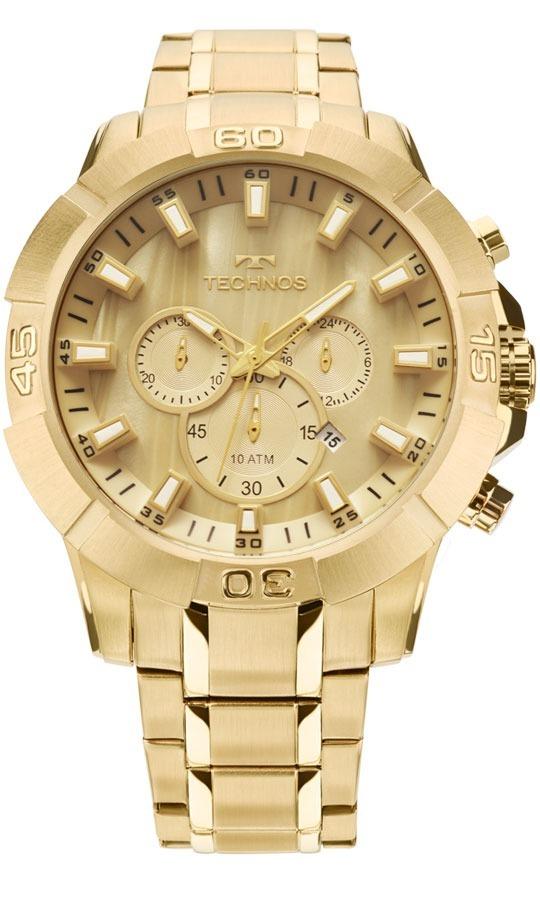 a12f6f89ff39f relógio technos masculino legacy dourado js26ae 4x promoção. Carregando  zoom.