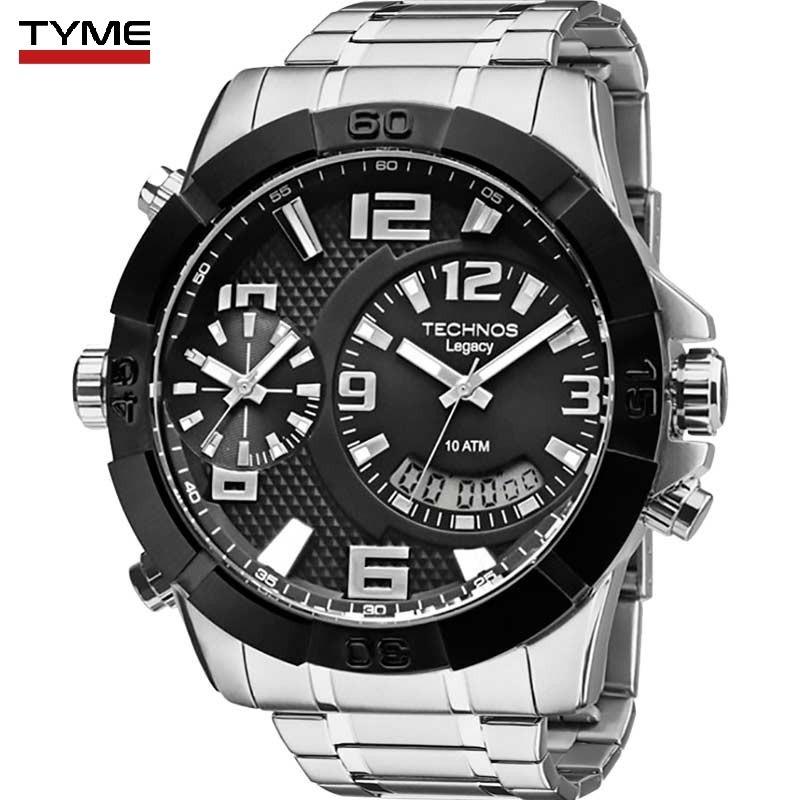 da9a55da41be8 relógio technos masculino legacy extra gde t205fk 3p c  nfe. Carregando  zoom.