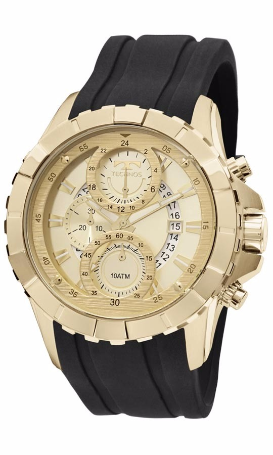 7218c650d60 Relógio Technos Masculino Legacy Js15ek 8p Dourado Silicone - R  698 ...
