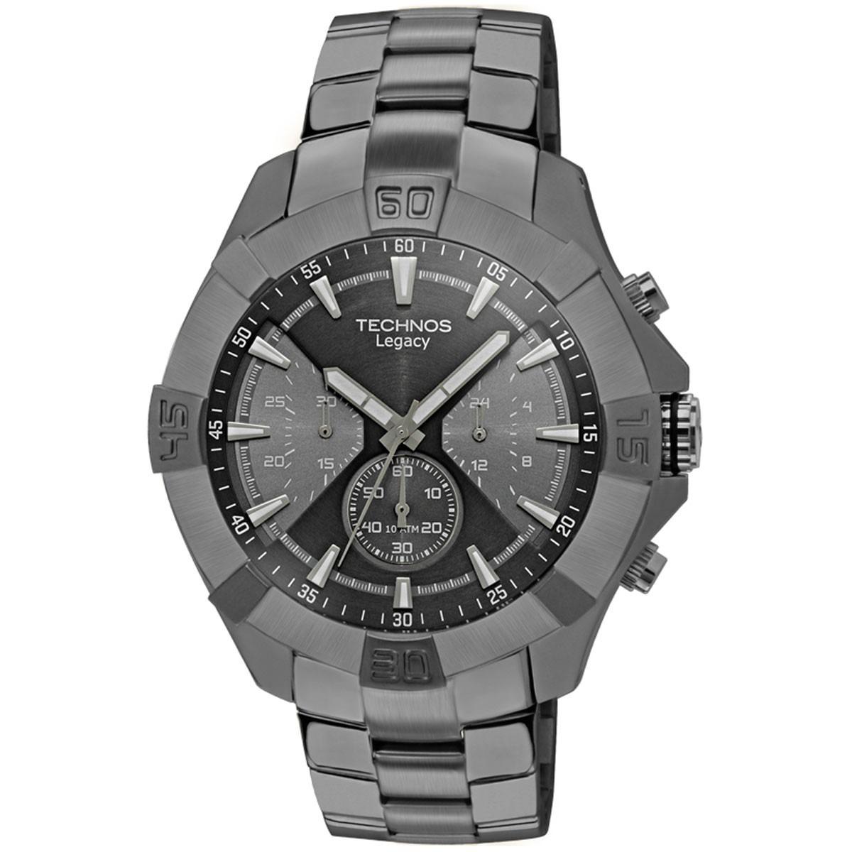 ca9d65a6ce1a6 relógio technos masculino legacy js20af 1c preto oferta. Carregando zoom.