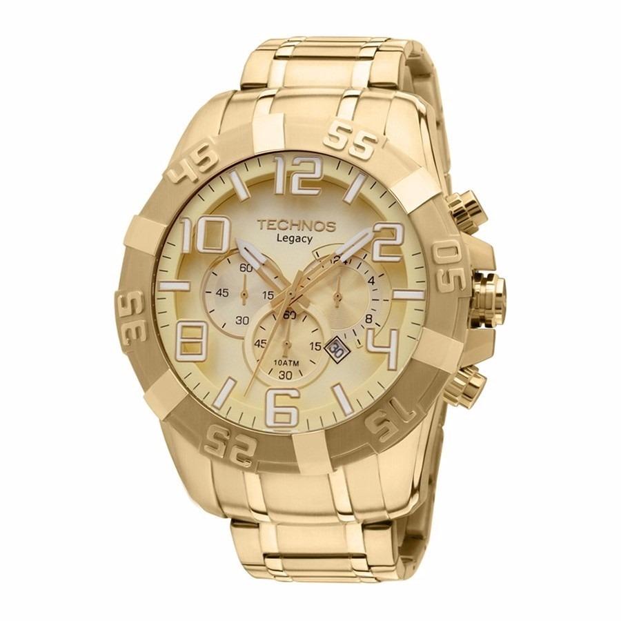 4dd17a7d02f relógio technos masculino legacy os20ik 4x dourado. Carregando zoom.
