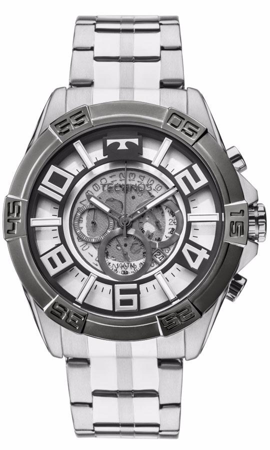7959f1c12bf Relógio Technos Masculino Legacy Os2abe 1c Prata Aço - R  898