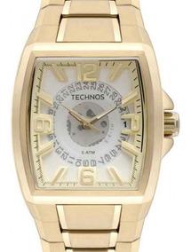 8b376a1c2 Relogio Technos Quadrado Preto Linha - Joias e Relógios no Mercado Livre  Brasil