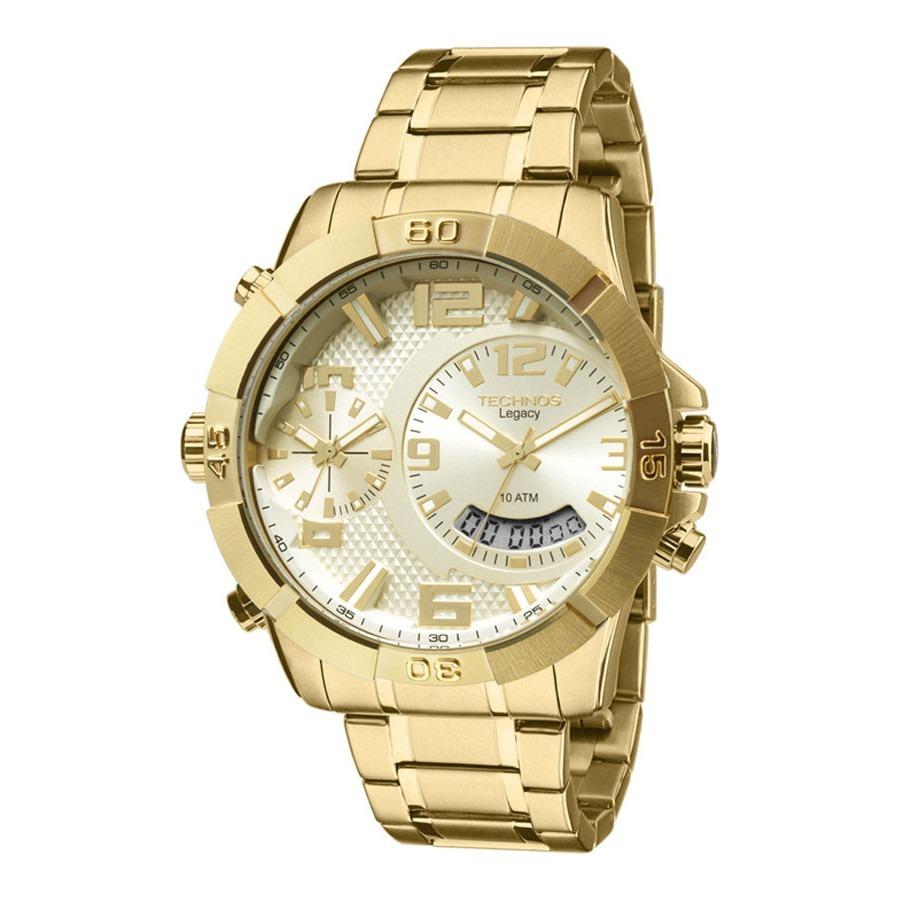 Relógio Technos Masculino Legacy T205fi 4x C nfe - R  863,90 em Mercado  Livre 9e8550b1e1